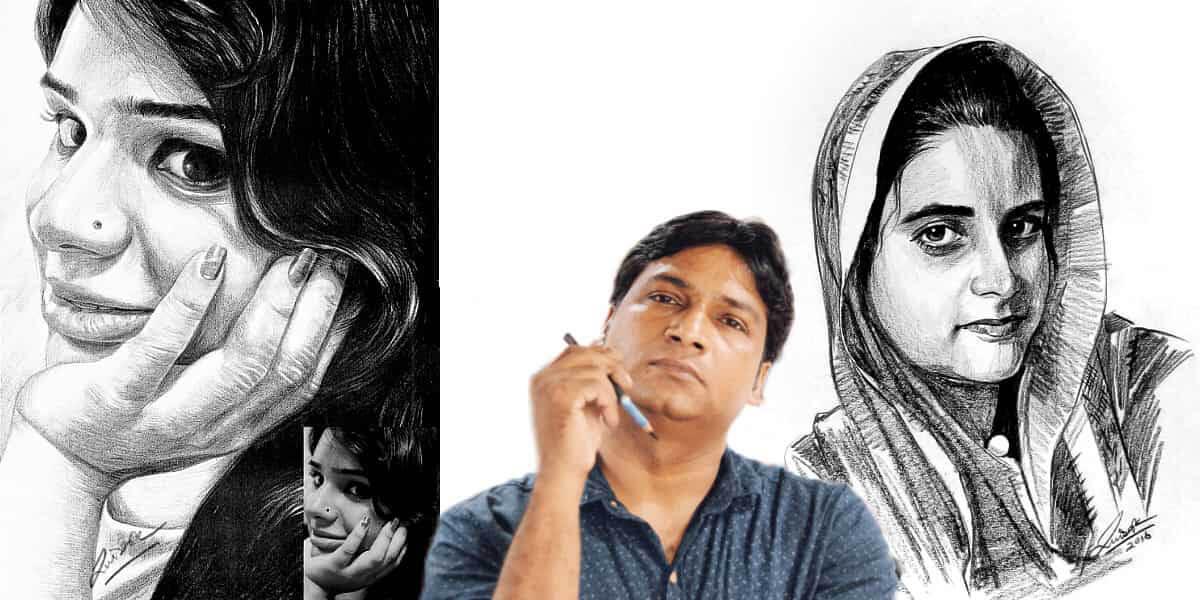sketch artist delhi